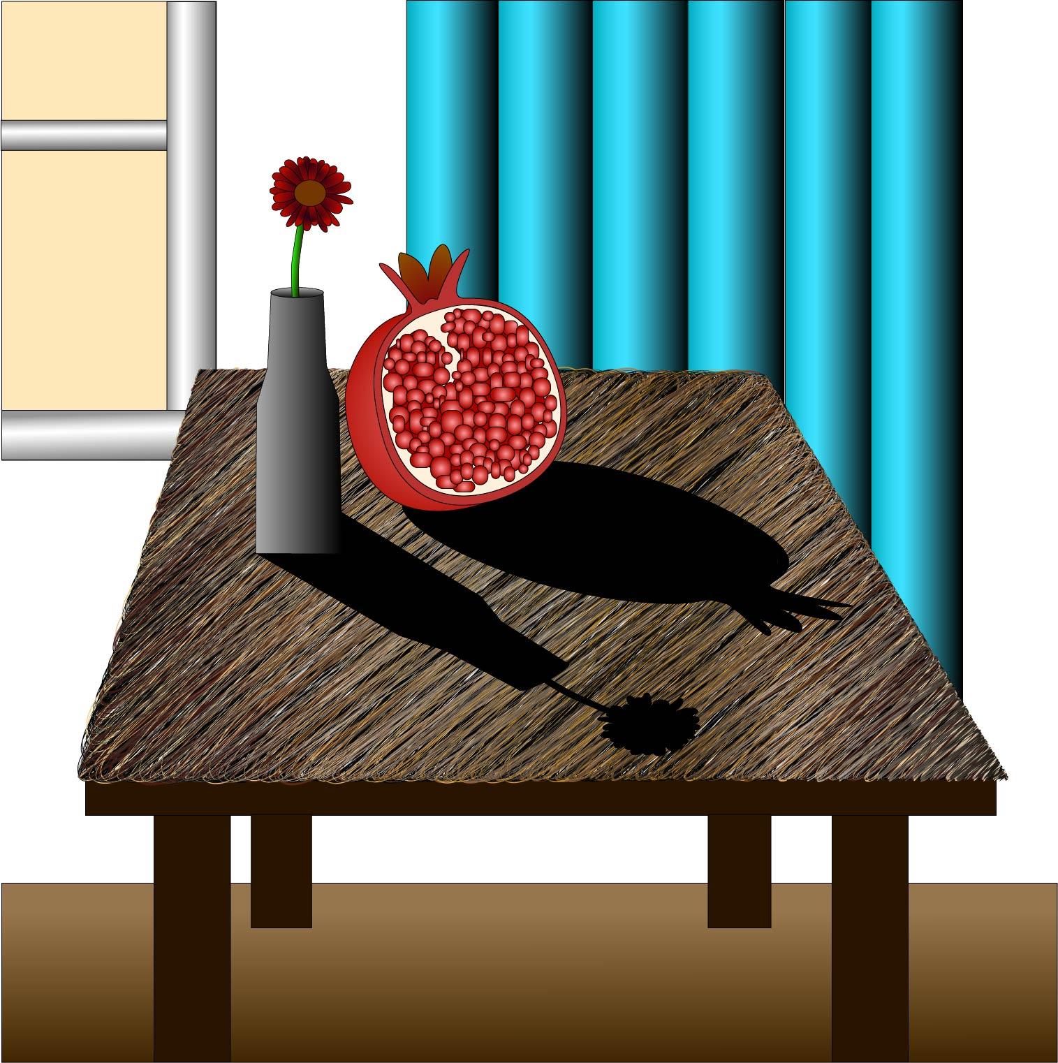 holikova-zatisi-s-vazou-a-granatovym-jablkem